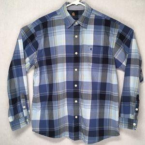 Carhartt mens long sleeve light casual shirt large